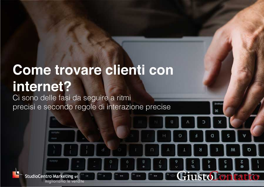 Come trovare clienti con internet?