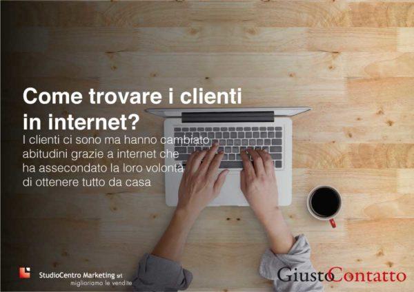 trovare clienti con internet