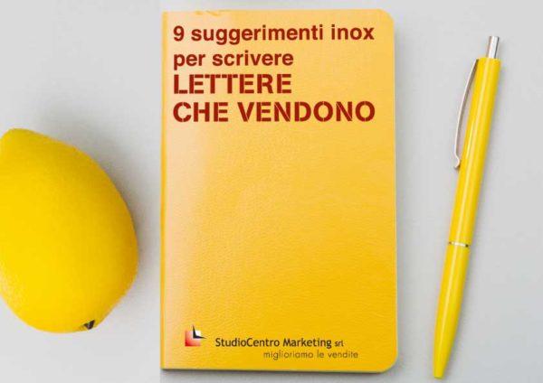 9 suggerimenti inox per scrivere lettere che vendono