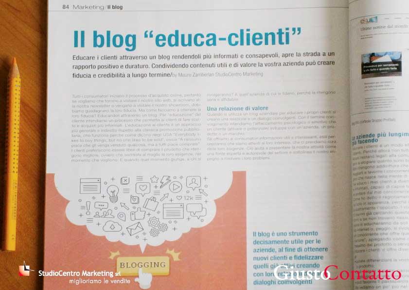 educare i clienti attraverso il blog