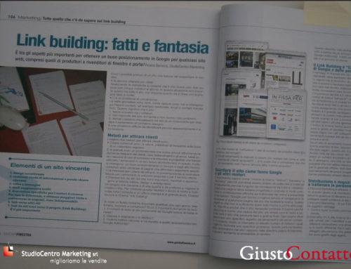 Link building: fatti e fantasia