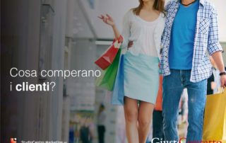 Cosa comperano i clienti?