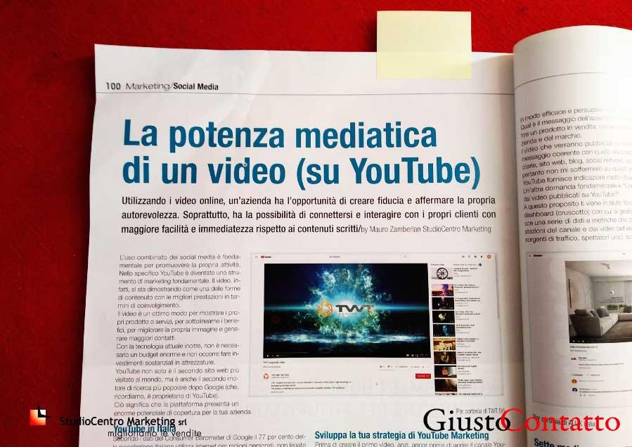 La potenza mediatica di un video su youtube. Estratto dell'articolo dalla rivista Nuova Finestra, ottobre 2019
