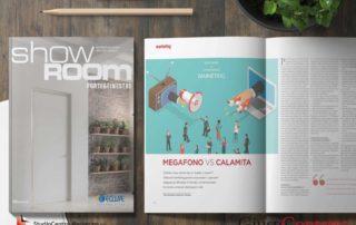 Inbound Marketing - copertina della rivista ed estratto dell'articolo