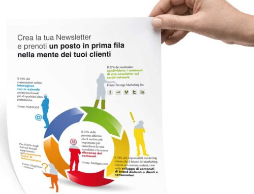 Crea la tua Newsletter e prenoti un posto in prima fila nella mente dei tuoi clienti