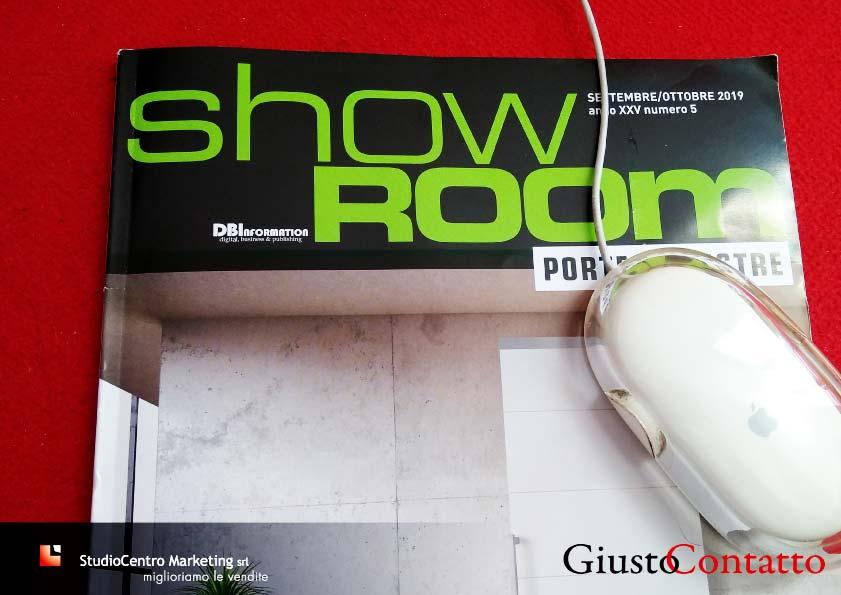 Sulla rivista Showroom puoi leggere l'articolo completo Scrivere per comunicare leggendo