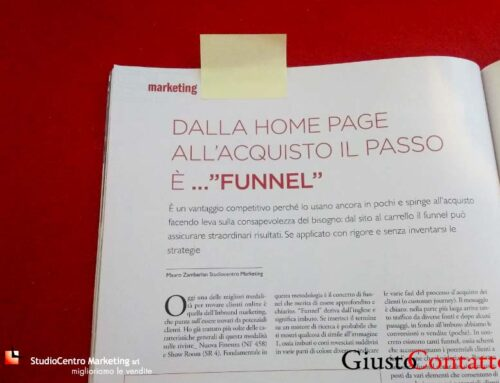 Il funnel: dalla home page all'acquisto