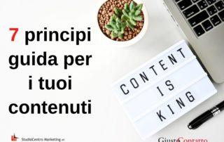 7 principi guida per i tuoi contenuti - 1