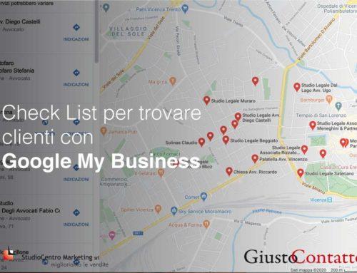 Checklist per Google My Business