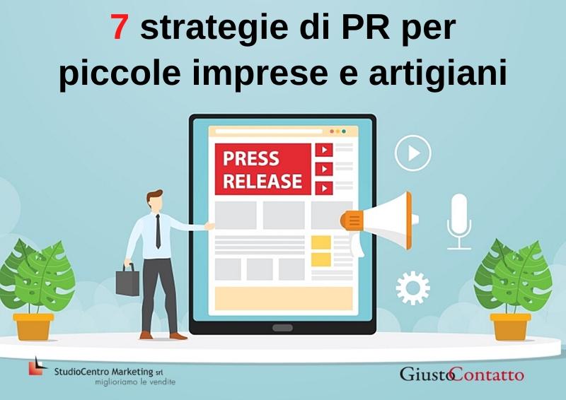 7 strategie di PR per piccole imprese e artigiani - 6