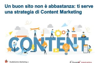 Un buon sito non è abbastanza ti serve una strategia di Content Marketing - 7